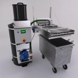 Emulsionsspaltanlage MAC 900, Die Vielseitige